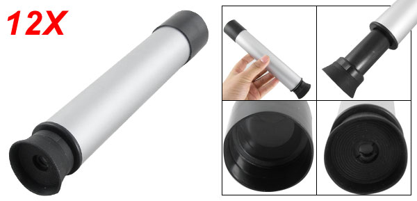Portable 12 X 30 Plastic Monocular Telescope for Camping