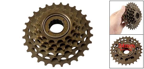 Bicycle Scooter Sprocket Wheel 6 Speed Freewheel Repair Part