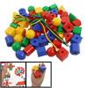 Geometric Shape Educational Kit DIY String Building Blocks