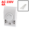Air Blower Heat Temperature Controller Mechanical Thermostat AC 2...