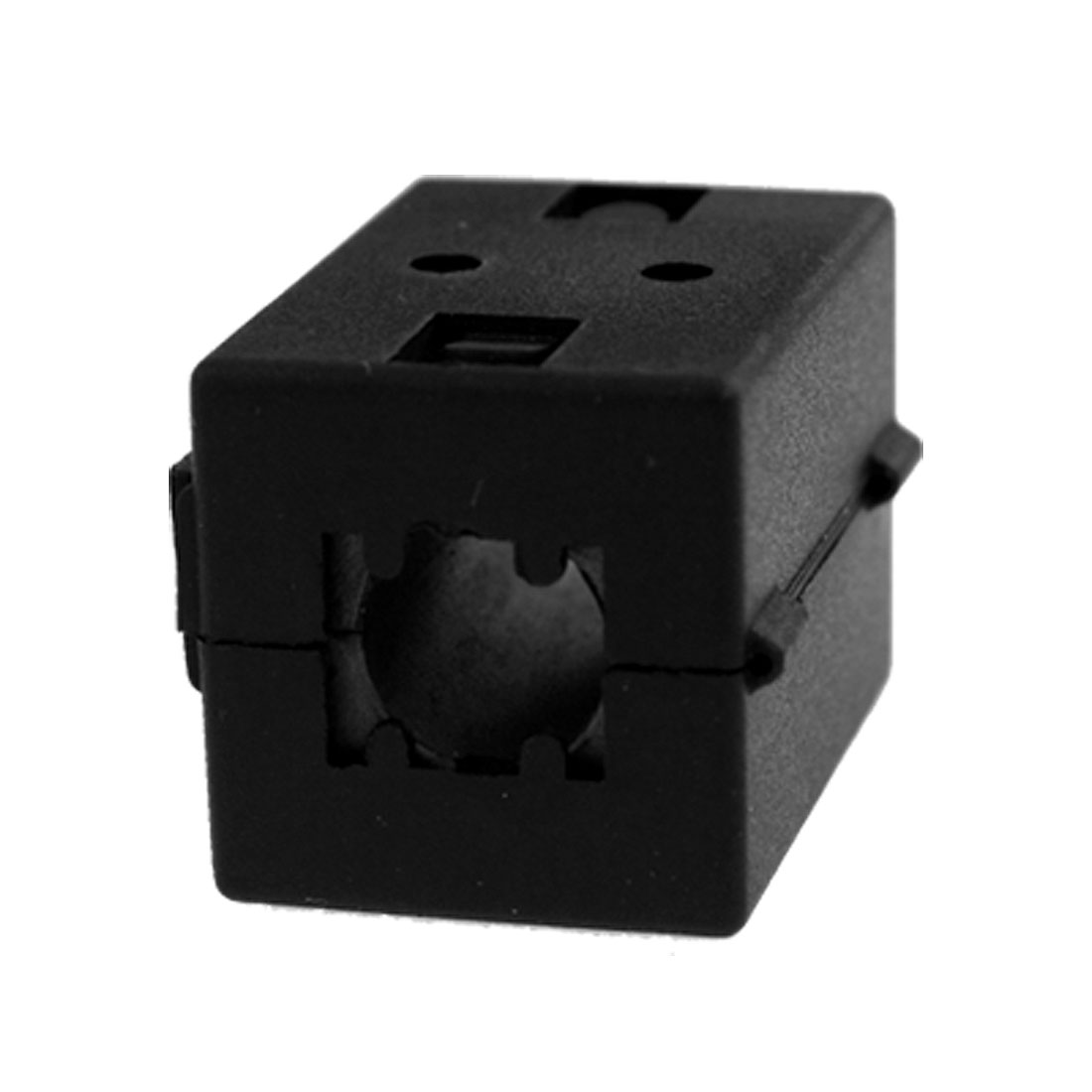 10mm-Dia-Black-Clip-On-EMI-RFI-Noise-Ferrite-Core-Filter