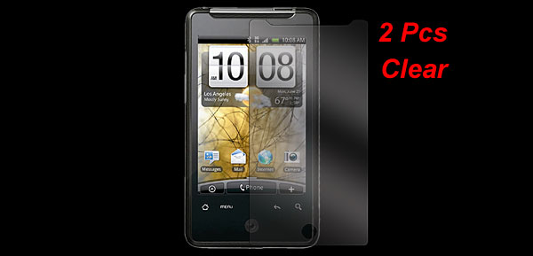 Plastic Clear Screen Guard Protective Film 2 Pcs for HTC G9