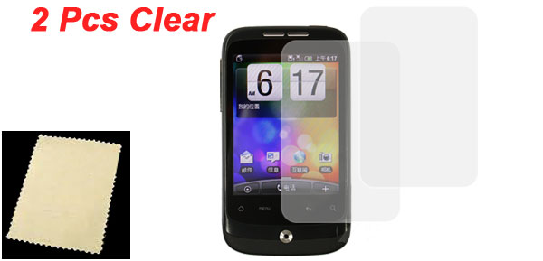 LCD Screen Protector Guard Film 2 Pcs for HTC G8