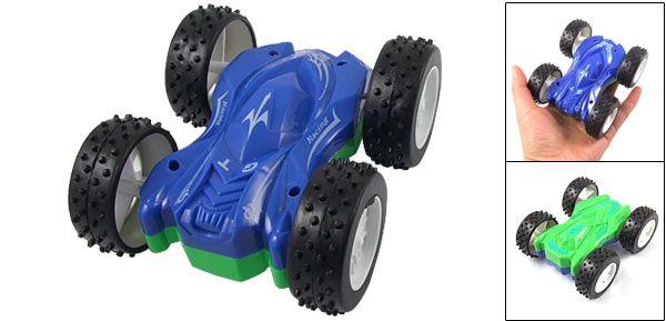 Children Nonslip Wheel Friction Inertia Sliding Racing Car Toy Green Blue