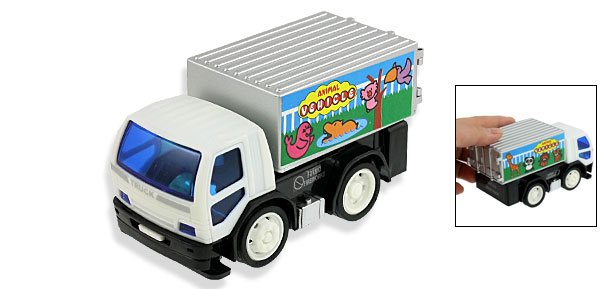 Plastic Tiger Panda Animal Vehicle Container Truck Toy for Children