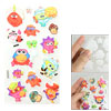 Phone Notebook Frame Cute Cartoon Animal Design 3D Foam Stickers ...