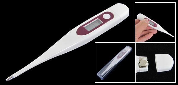 LCD Display Digital Thermometer Body Temperature Measure Tool 32-42.9C
