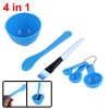 Women Plastic Brush Spoon Stick Brush Mask Skin Care Mixing Bowl ...