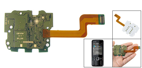 Spare Parts Membrane Keyboard Keypad Flex Cable for Nokia N82