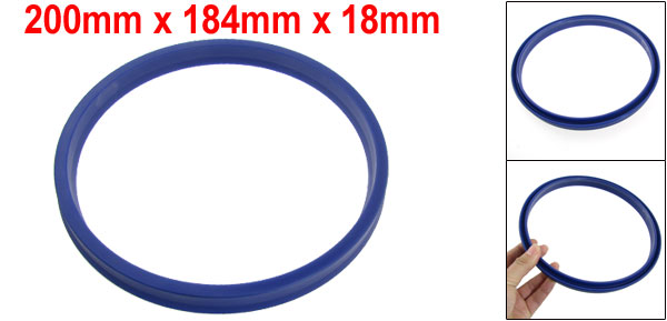 200mm x 184mm x 18mm ODU Hydraulic PU Oil Seal for Autocar