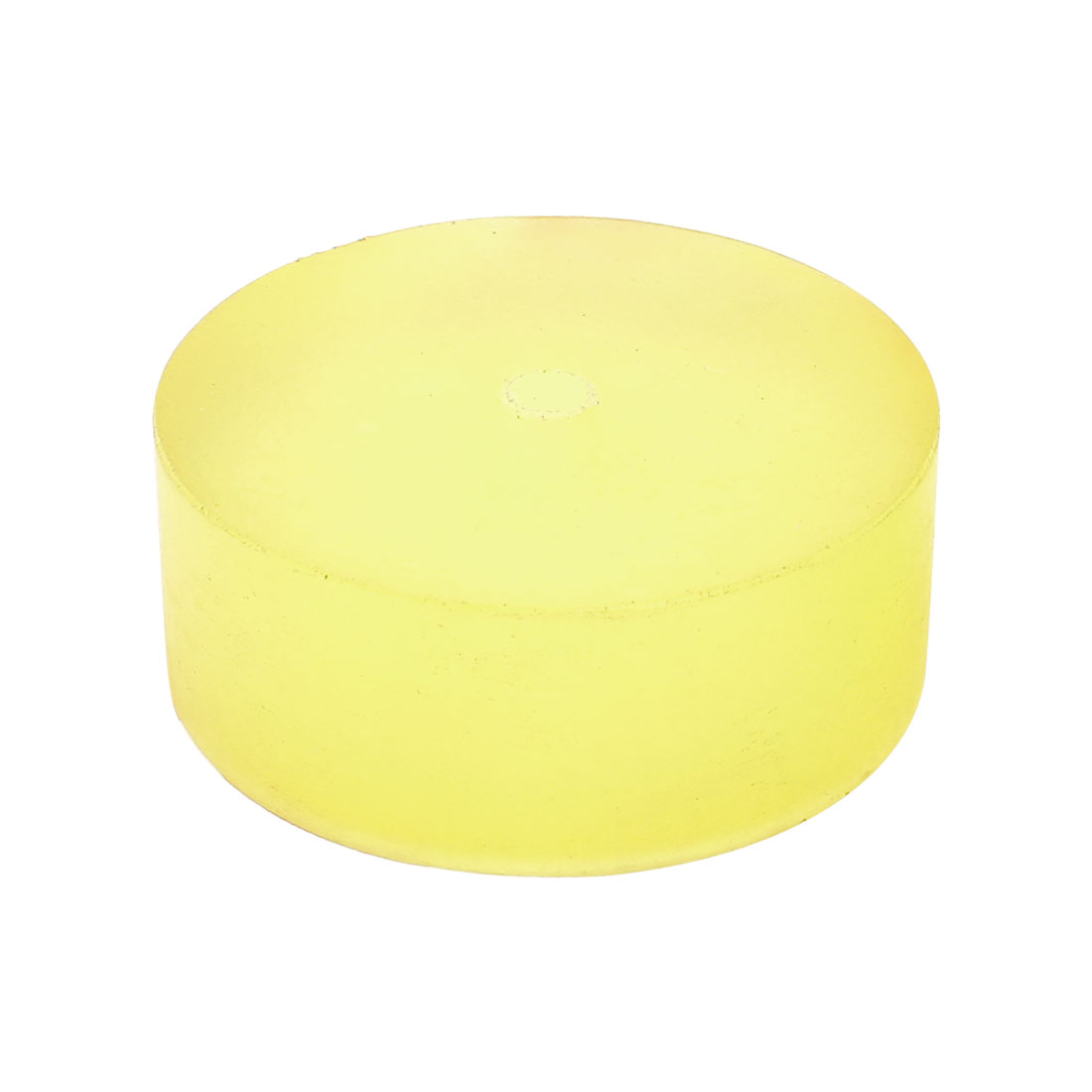 79mm-x-30mm-Shock-Absorber-Polyurethane-PU-Pad-Sheet-Clear-Yellow