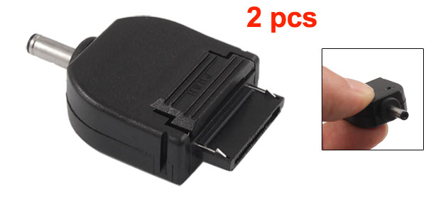 2 Pcs 3.5mm Male DC Power Adapter Connector Charger for Motorola V998