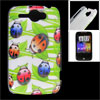 IMD Ladybug Pattern Hard Plastic Back Cover Case for HTC G8