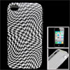 IMD White Black Houndstooth Pattern TPU Soft Plastic Cover for iP...
