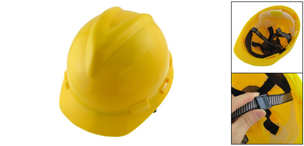 Protective Yellow Hard Plastic Construction Safety Hat
