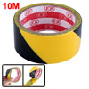 32.8Ft 10m Black Yellow Floor Adhesive Hazard Warning Caution Saf...