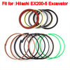 Repairing Arm Cylinder Oil Seal Ring Kit for Hitachi EX200-5 Exca...