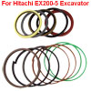 Bucket Cylinder Oil Seal Ring Kit for Hitachi EX200-5 Excavator
