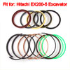 Repalcement Boom Cylinder Oil Seal Kit for Hitachi EX200-5 Excava...