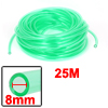 "5/16"" x 15/32"" 82 Ft Long Clear Green Polyurethane Tube Pneumatic..."