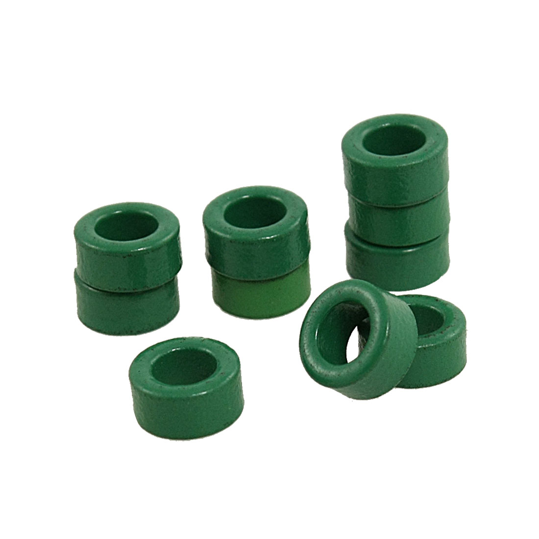 10-Pcs-Transformer-Ferrite-Toroid-Cores-Green-10mm-x-6mm-x-5mm