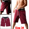 Mens Rope Drawstring Waist Casual Sport ...