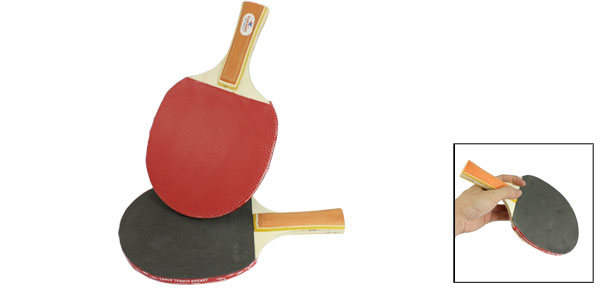 Outdoor Ping Pong Paddle Table Tennis Racket Bat Racquet Pairs