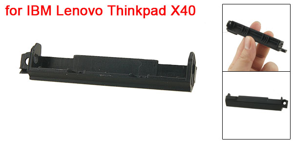 Black Plastic Hard Drive Cover for IBM Lenovo Thinkpad X40