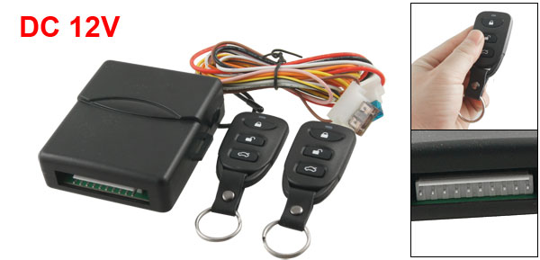 Car Remote Control Trunk Release Door Lock Unlock Keyless System Set
