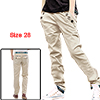 Mens Slim Fit Grid Check Straight Casual...