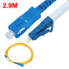 2.9M Single Mode LC to SC Connector Fiber Optic Jumper Cable Yell...