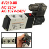 Single-head 2 Position 5 Way Magnetic Solenoid Val...