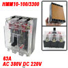 Transparent AC 380V DC 220V 63A 3 Poles 3P MCCB Moulded Case Circ...