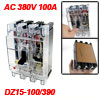 Transparent AC 380V 100A Three Poles 3P MCCB Moulded Case Circuit...