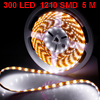 Car Auto 5M Long White 1210 3528 SMD 300 LED Flexible Light Strip...