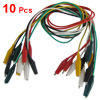 Multimeter Colored Insulated Alligator Clips Test Lead Cables 45c...