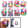 Colorful the God of Longevity Character Handicraft Chinese Paper ...