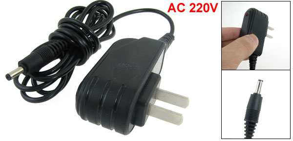 220V AC Power Black Ultra Slim Travel Phone Charger for Nokia 8310