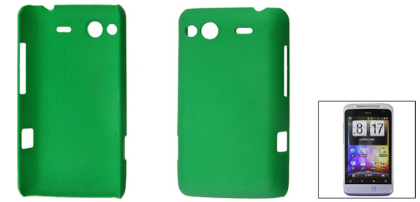 Green Hard Plastic Protective Shell Back Case for HTC Salsa G15