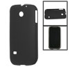 Black Rubberized Plastic Cover for Huawei Ascend 2 M865/C8650
