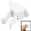 Bathroom Adhesive Broom Mop Handing Wall Clip Hook White