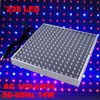 AC 100-240V 50-60Hz 14W UFO Blue Red LED Grow Light Panel US Plug