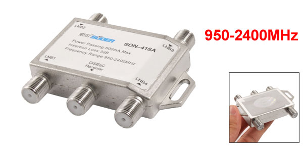 950-2400MHz 4 FTA TV LNB Satellite Control DISEQC Switch