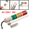 AC 220V Yellow Red Green Bulb Tower Industrial Signal Warning Lig...
