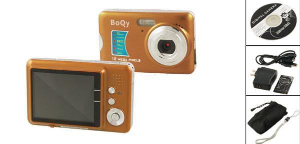 Boqy CD500-FE CMOS 12.0 MP 2.7