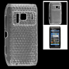 Clear Soft Plastic Hex Pattern Inner Protector Case for Nokia N8