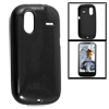 Protective Soft Black Plastic Case Cover for HTC G12 Amaze 4G