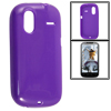 Purple Protective Soft Case Cover for HTC G12 Amaze 4G