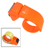 Orange Hard Plastic Packaging Hand Tape Gun Roll Dispenser Cutter...