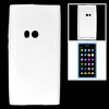 White Soft Plastic Case Shell Protector for Nokia N9